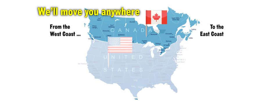 Long Distance Movers Canada from West Coast to East Coast