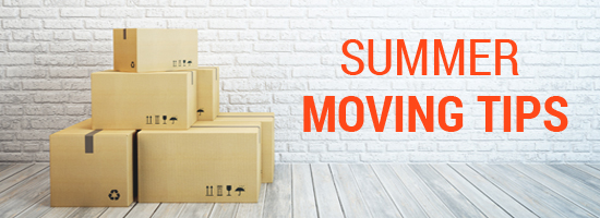 Know the Summer Moving Tips